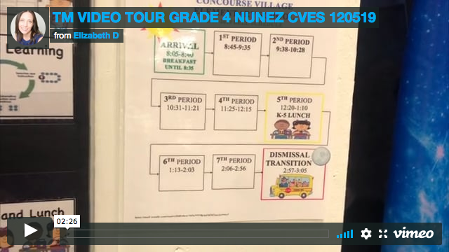TM VIDEO TOUR GRADE 4 NUNEZ CVES