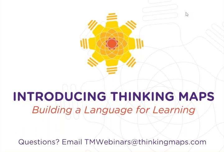 Thinking Maps Building a Language for Learning