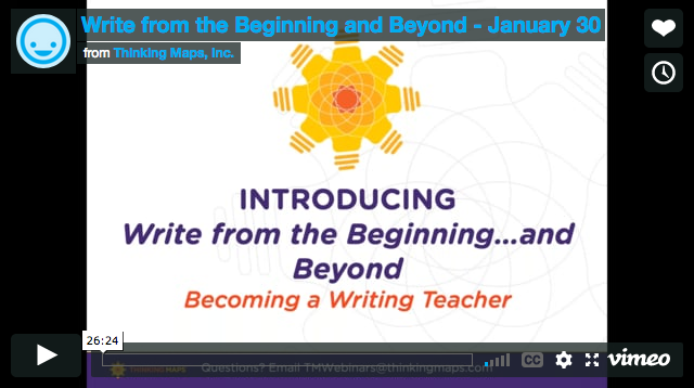Write from the Beginning and Beyond