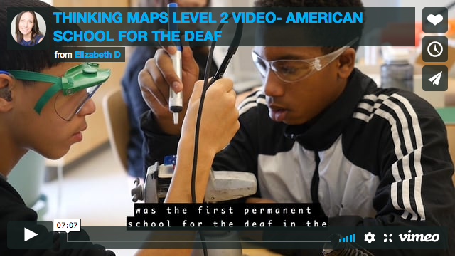 Thinking Maps Level 2 Video - American School For The Deaf