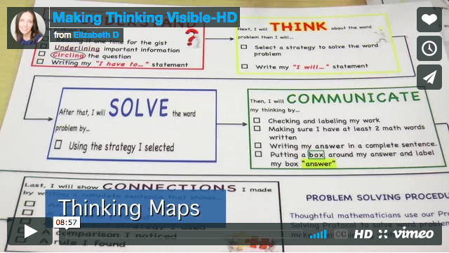 Making Thinking Visible with Thinking Maps - Concourse Village Elementary School (PS 359X) Bronx, NY