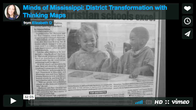 Minds of Mississippi: District Transformation with Thinking Maps