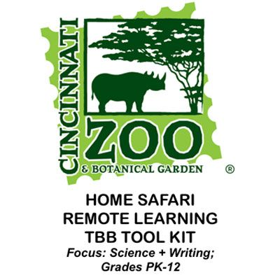 Cincinnati Zoo Home Safari Remote Learning Tool Kit